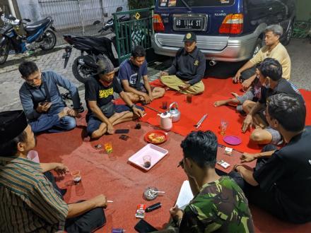 Rapat Pengurus Bregodo Turonggo Sumber Arum Pedukuhan Sumberan