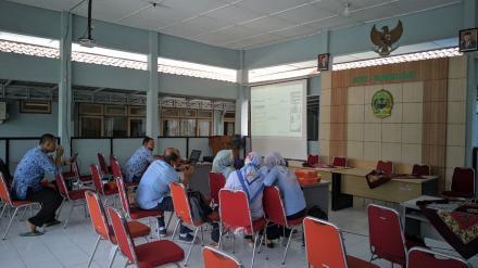 Zoom meeting SIPD di Pendopo Kapanewon Kasihan