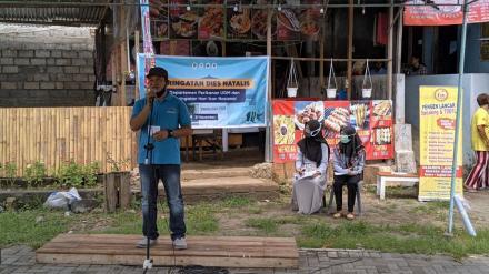 Bersih Embung oleh Departemen Perikanan dan Keluarga Mahasiswa Ilmu Perikanan UGM