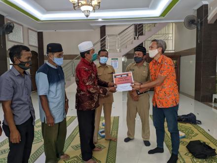 Serah Terima Wifi Gratis Masjid Nurul Hikmah Cungkuk