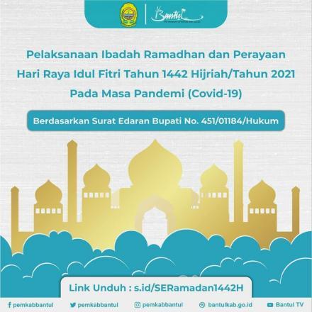 Panduan Pelaksanaan Ibadah Ramadan dan Idul Fitri 1442 H