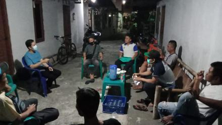 Rapat PPKM Mikro Soragan RT.03