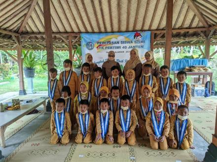 Pelepasan Siswa TK Pertiwi 40 Janten Tahun Ajaran 2020/2021