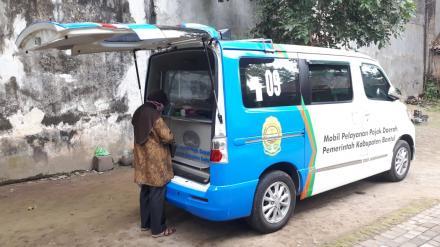 Pelayanan Pembayaran PBB Keliling di Onggobayan