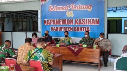 Rapat Koordinasi Pemantauan PPKM MIkro tingkat RT