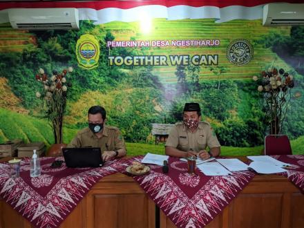 Rapat Koordinasi Pamong Kalurahan Ngestiharjo