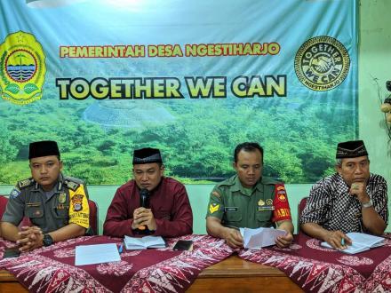 Rapat Koordinasi Rois dan Takmir Masjid